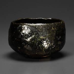 黒茶碗 渡辺
